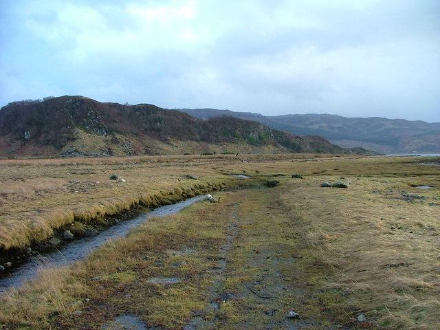 Footpath to Kirkton Bay