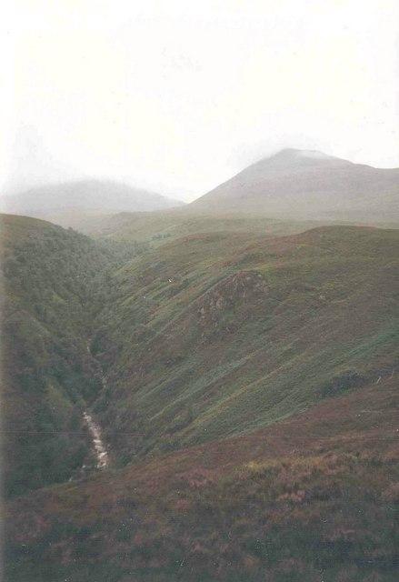 Kilfinnan valley and Ben Tee
