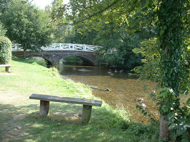 Sandways Bridge over the River Frome