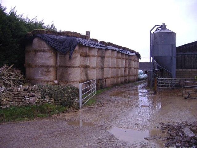 New Barn farm yard