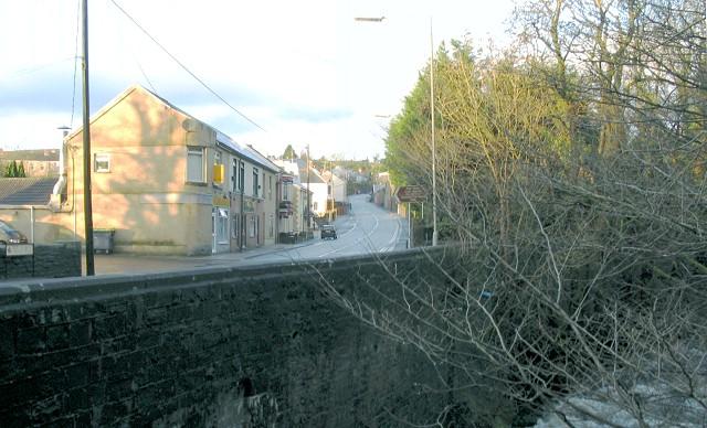 Former station, Brynamman (Recreated)