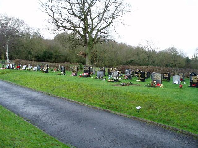 Cemetery at Pontblyddyn