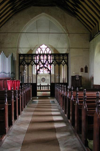 St Margaret, Paston, Norfolk - East end