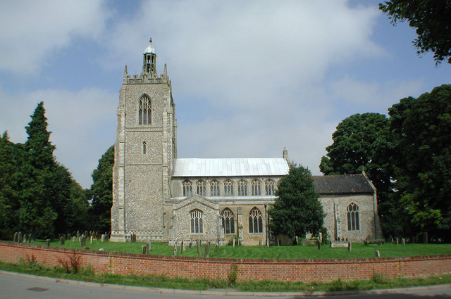 All Saints, Necton, Norfolk