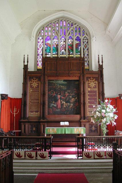 All Saints, Necton, Norfolk - Chancel