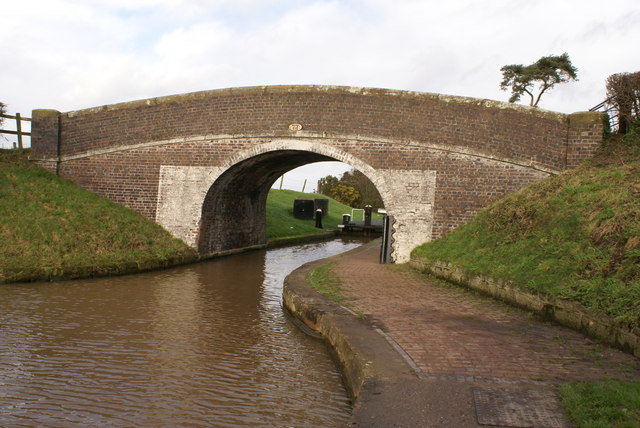 Bridge over the Shropshire Union Canal in Audlem
