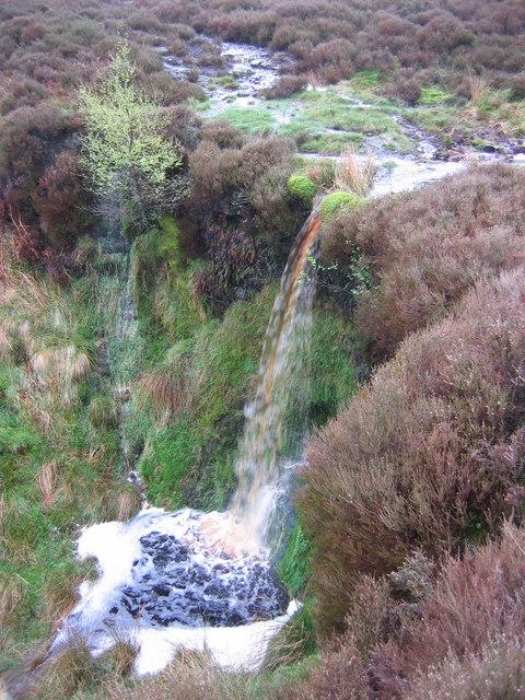 Waterfall, Levisham Moor
