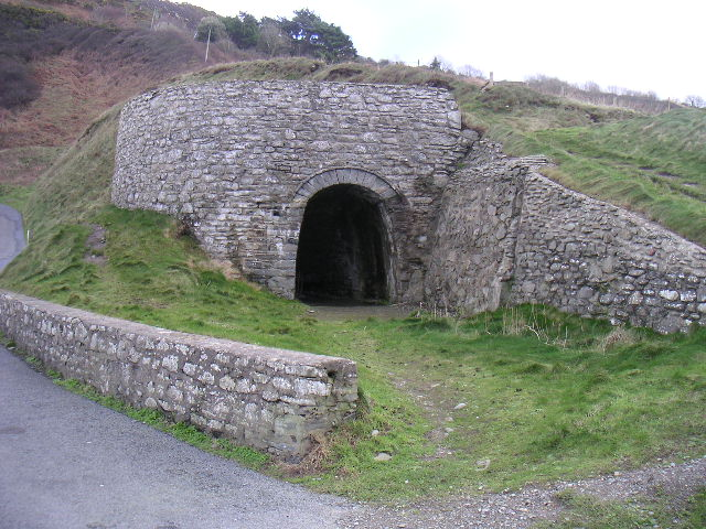 Lime Kiln at Cwmtydu
