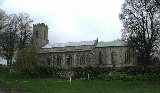 St Mary, Tunstead, Norfolk