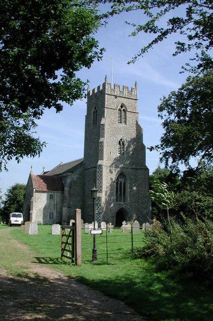St Mary the Virgin, North Tuddenham, Norfolk