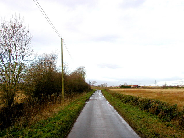 The road to Newton upon Derwent