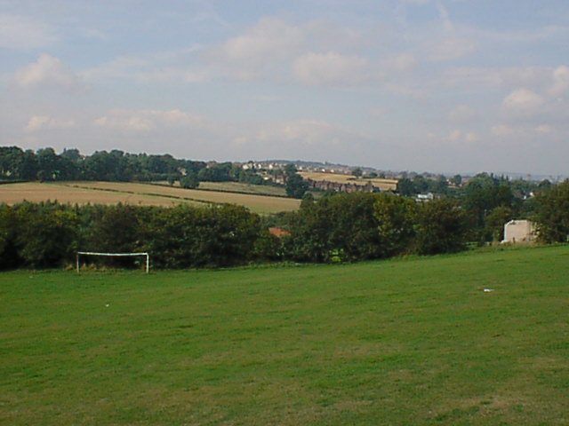 Station New Road viewed from Hepthorne Lane Sports Field