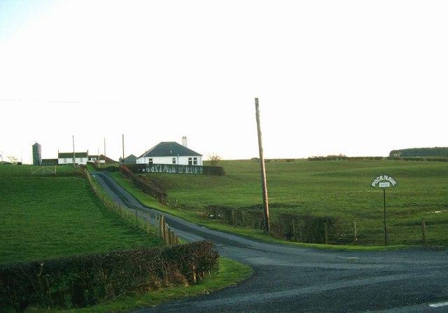 Pocknave farm roadend