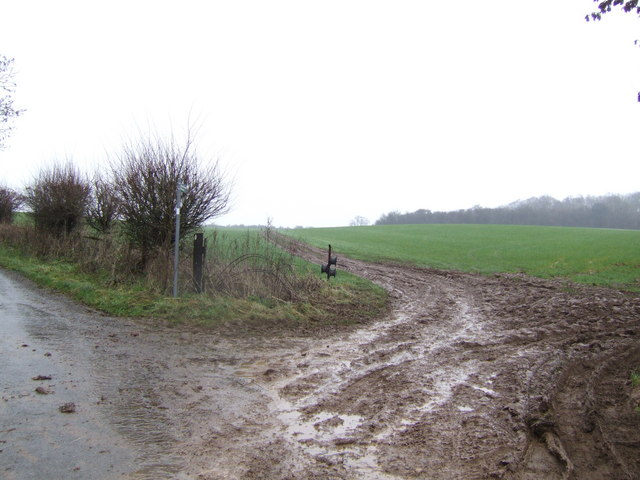 Bridleway to Great Rissington