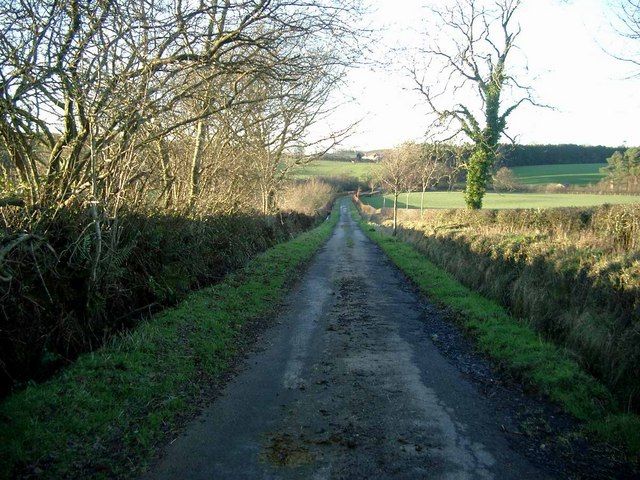 Ayrshire country road