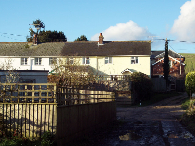 Cottages in Pitts Lane, Bishopstone
