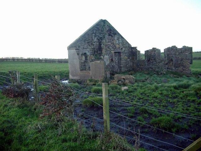 Ruin near Drumdroch