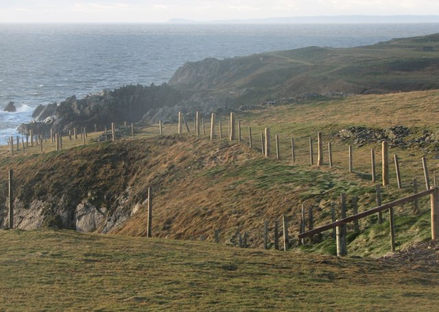Coastal path, Burrow Head