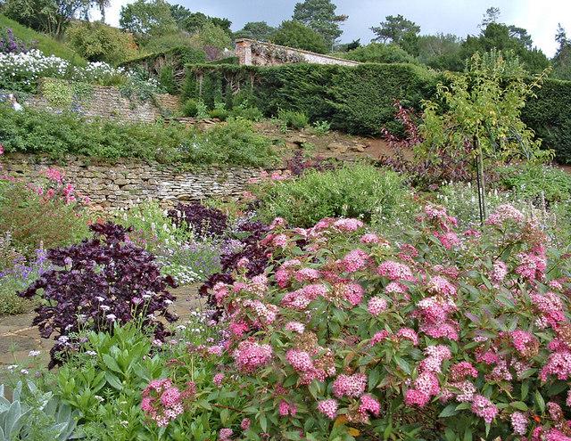 Terrace  Garden at Upton House, Warwickshire