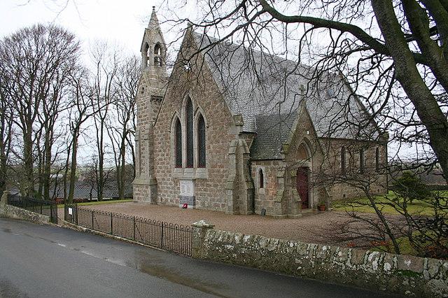 The Church of Scotland at Barthol Chapel.
