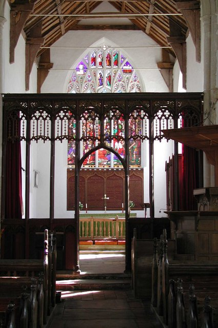 St Bartholomew, Brisley, Norfolk - East end