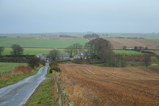 Dwellings at Old Balgove.