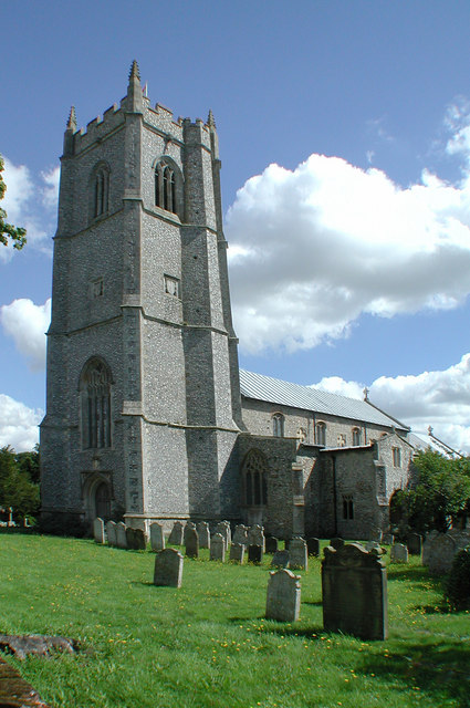 St Peter & St Paul, Heydon, Norfolk