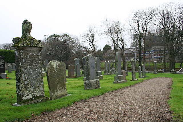 Cemetery at Barthol Chapel.