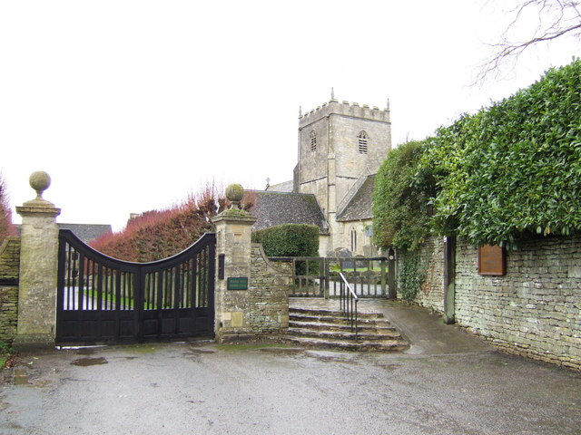 St .John the Baptist's church, Great Rissington