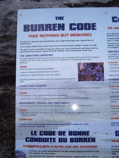 Burren Code