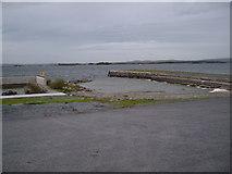 M1943 : Pier at Annaghdown by Dr Brian Lynch