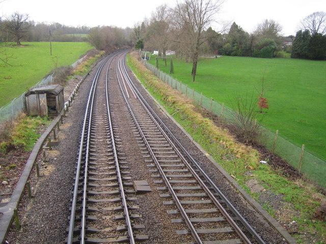 Railway line near Horsham