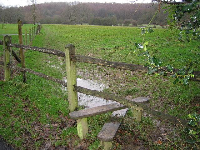 Horsham: Footpath to Denne Park
