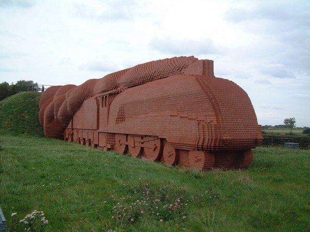 Brick Train Darlington