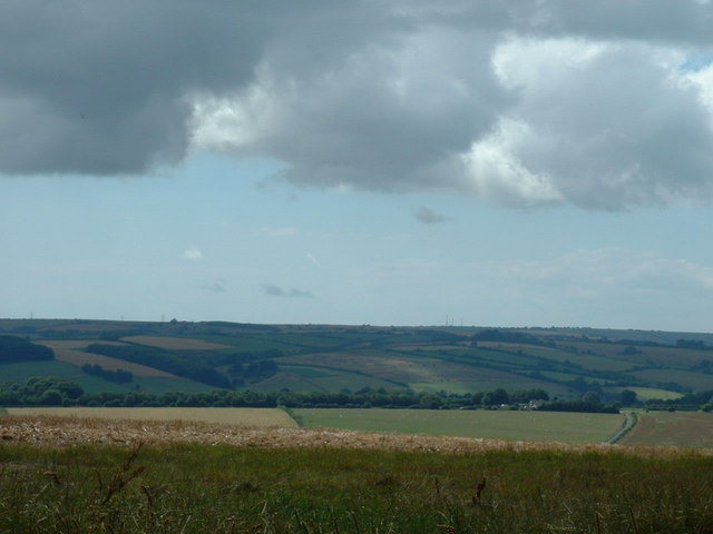 View from Grimstone Down southwest
