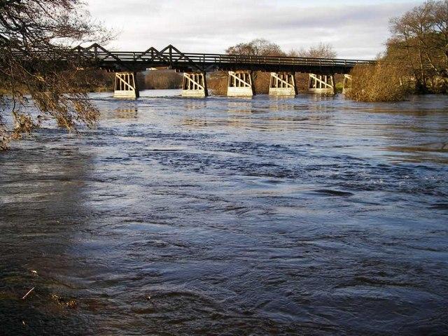 Broomhill Bridge over River Spey