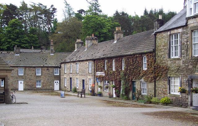 Village Square, Blanchland