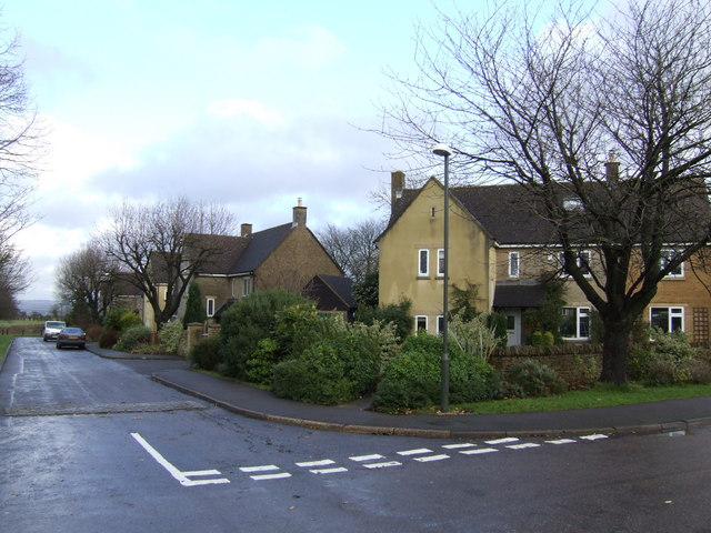Older housing at Upper Rissington
