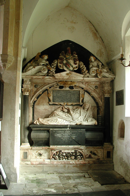 St Margaret, Stratton Strawless, Norfolk - monument