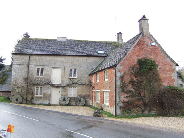 Old Water Mill at Bledington