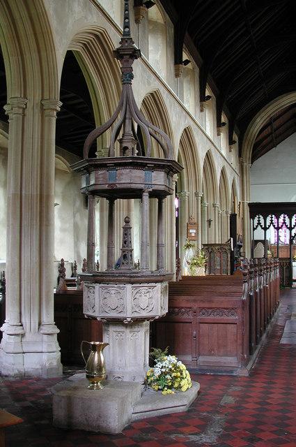 St Mary & St Andrew, Horsham St Faith, Norfolk - Font