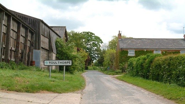 Entering Youlthorpe