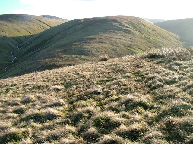 Churn Gill, Hand Lake and Uldale from Uldale End