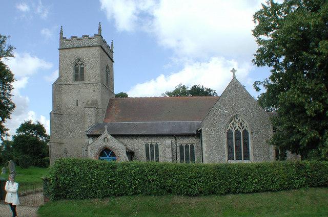 St Swithin, Bintree, Norfolk