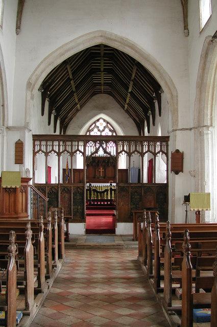 St Andrew, Saxthorpe, Norfolk - East end