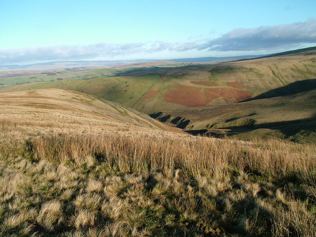 Uldale End and lower Uldale from Rispa
