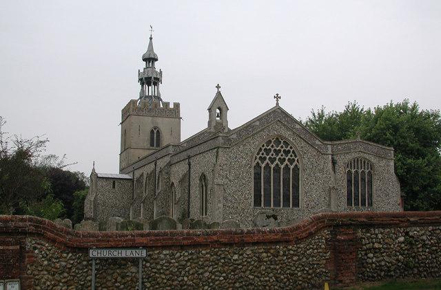 All Saints, Shipdham, Norfolk