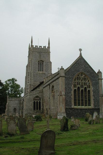 S George, Saham Toney, Norfolk