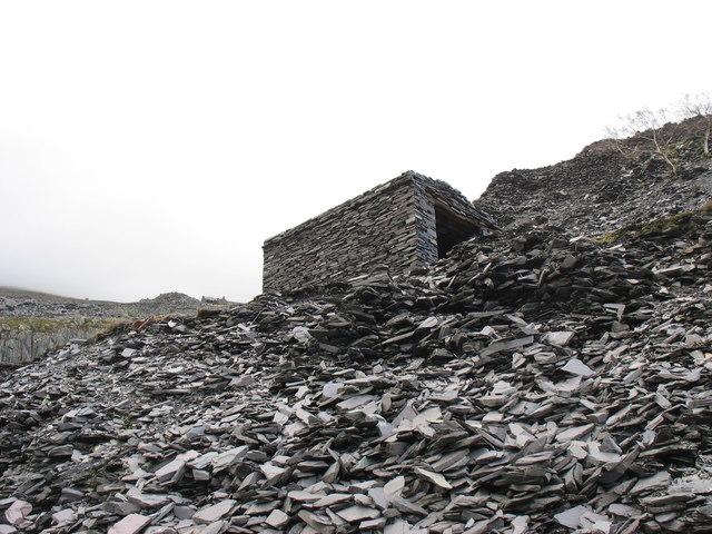 The Dyffryn loco shed