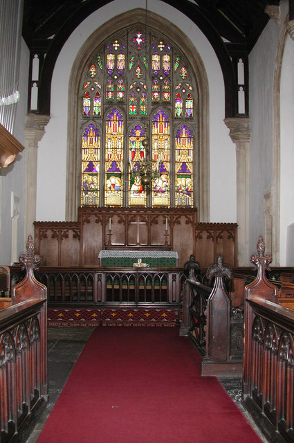 St George, Saham Toney, Norfolk - Chancel